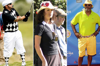 The Most Ridiculous Celebrity Golf Attire