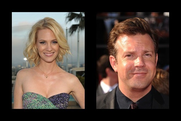 January Jones was rumored to be with Jason Sudeikis
