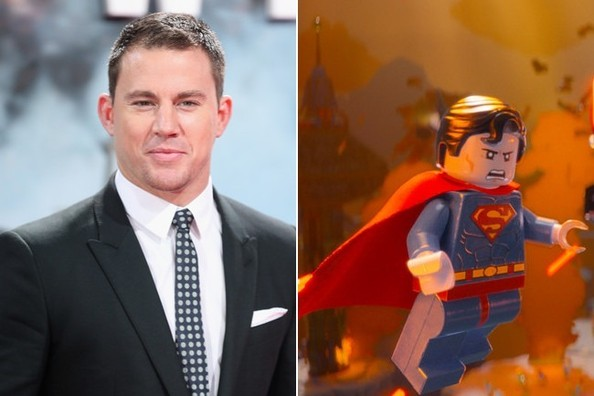 Channing Tatum as Superman - The Surprising Celebrity Voices in 'The ...