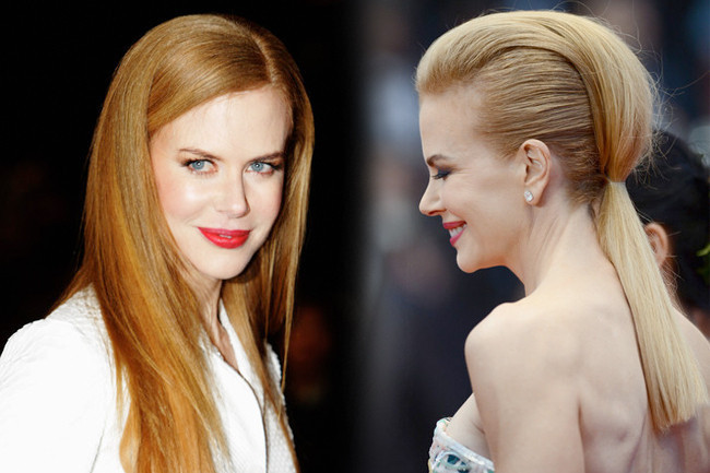 Nicole Kidman's 10 Most Dramatic Beauty Transformations
