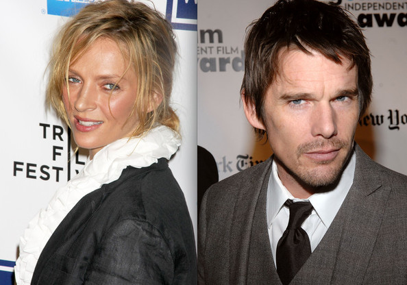 Uma Thurman & Ethan Hawke - Celebrity Cheating Scandals ...