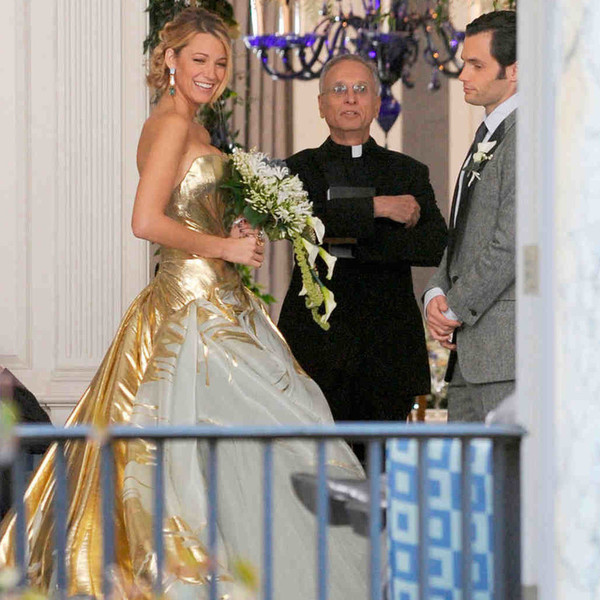 Serena van der Woodsen in \'Gossip Girl\' - TV Wedding Dresses, Ranked ...