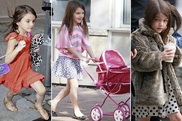 Suri Cruise Doing Grown-Up Things