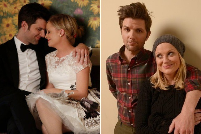 Amy Poehler & Adam Scott - Actors Who Have Played Both ...