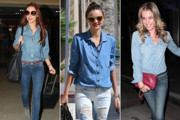 Head to Toe Denim? Yes and Yes