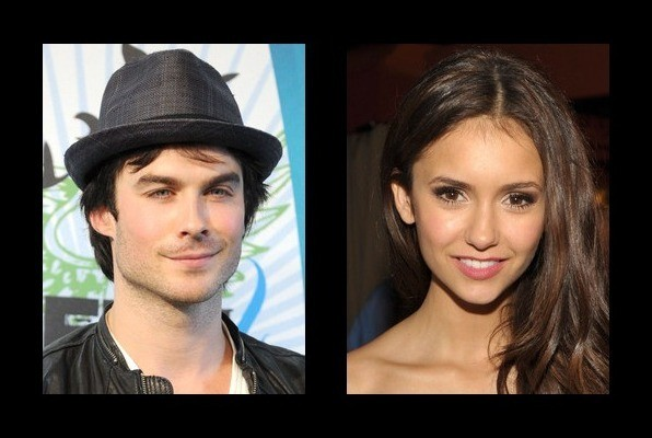 Ian Somerhalder dated Nina Dobrev