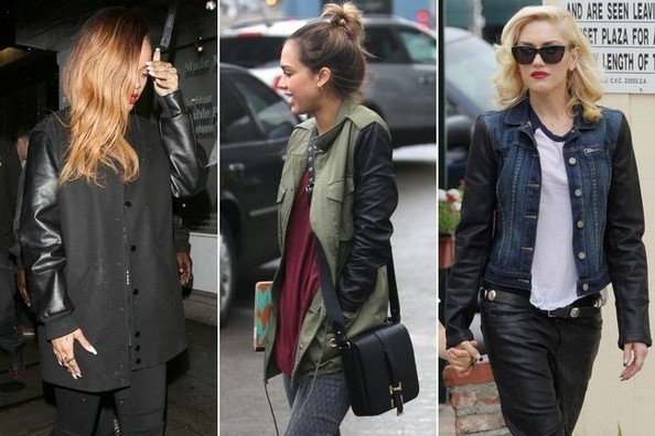 Street Style Trend Alert! Leather Sleeves
