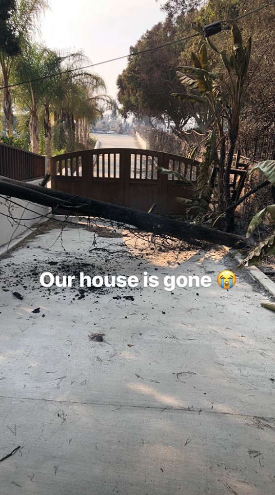 Celebrities Lose Their Homes To The Woolsey Fire