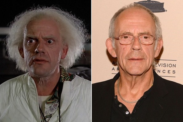 Christopher Lloyd - Comparing Old Age Makeup to the Real ...