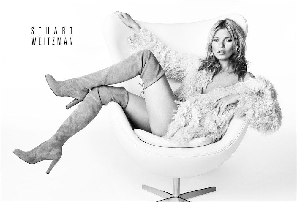 A Fall Look to Covet Now: Kate Moss' Newest Ad Campaign