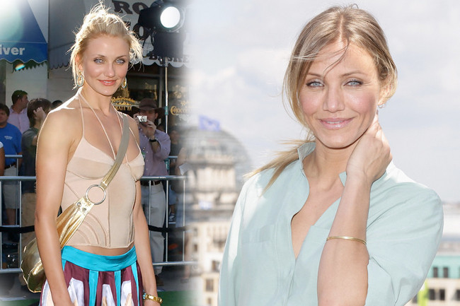 Fashion Flashback - Cameron Diaz Then & Now