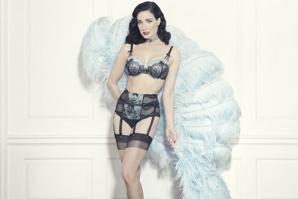 a3704f701d30 Dita Von Teese Talks Perfume and Lingerie, Gives Us a Sneak Peek at Her HSN  Line