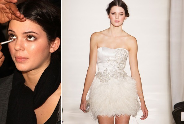Kendall Jenner Stuns in Sherri Hill for Fashion Week Debut