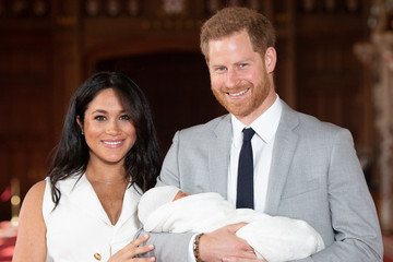 Meghan Markle And Prince Harry Share First Close-Up Snapshot Of Archie On Father's Day