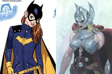 Batgirl and Thor Both Got Some Forward-Thinking Makeovers This Week