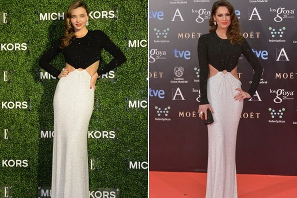 Who Wore It Better: Miranda Kerr or Mar Saura? Vote!