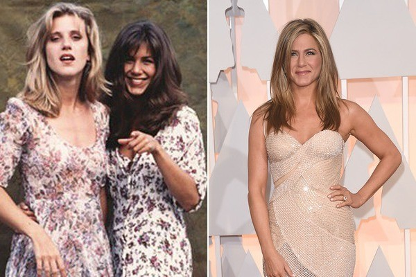 See Jennifer Aniston in All of Her Brunette '90s Glory