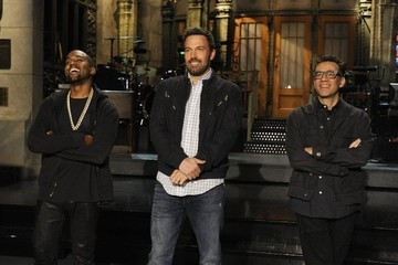 Kanye West Sports a Bandaid on His Forehead in New 'SNL' Promo