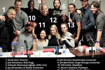 The 'Suicide Squad' Cast Photo, Annotated