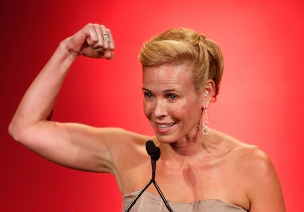 Chelsea Handler also appears in