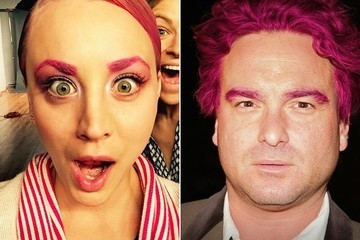 What If Kaley Cuoco-Sweeting's Pink Hair Inspired a Hot New Trend?