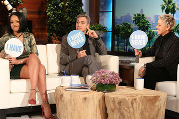 Watch Rihanna and George Clooney Play 'Never Have I Ever' on 'Ellen'