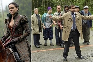 'Once Upon a Time' Season 2 Hot Shots - Storybrooke Exit