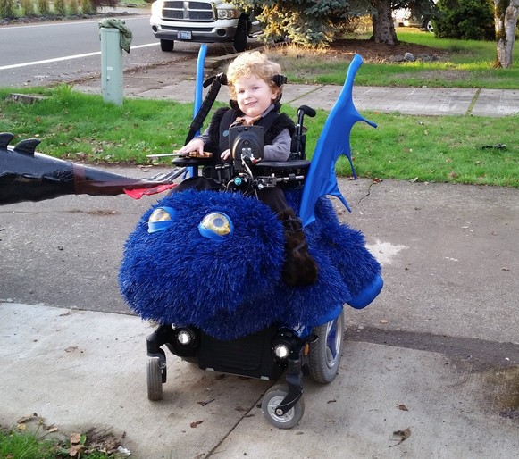 You Need to See These Fantastic Halloween Costumes for Kids in Wheelchairs