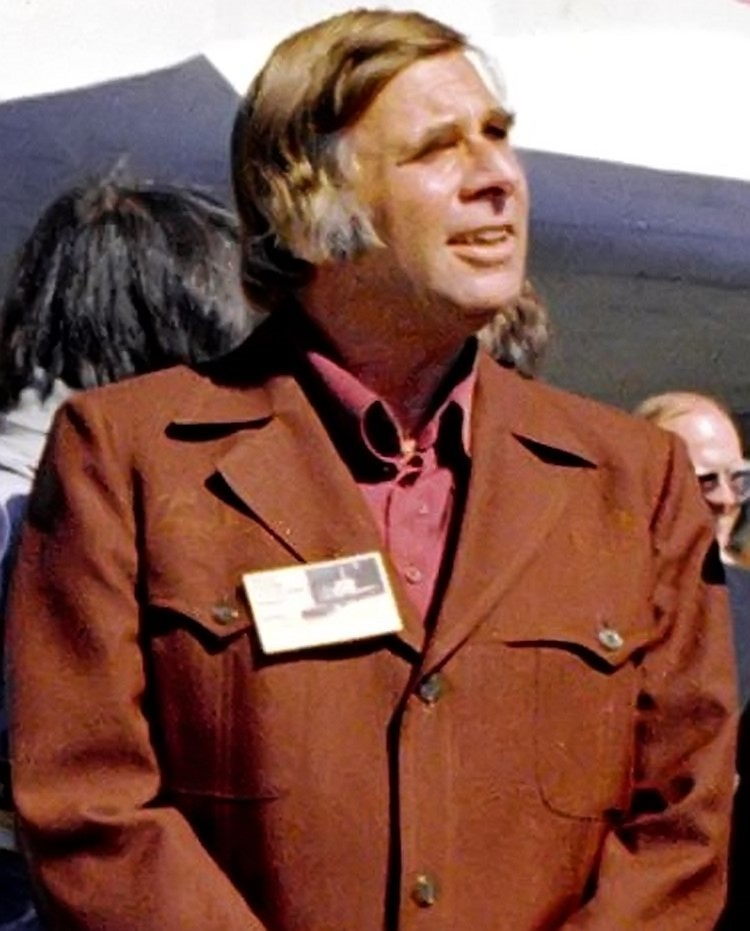 The late Gene Roddenberry in 1976.