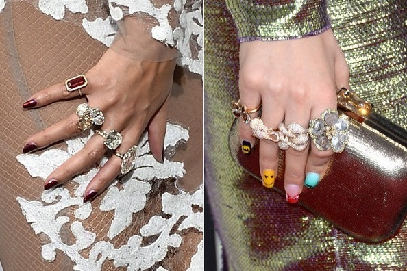 "The Arm Party is So Yesterday—2014 is the Year of the ""Finger Party"""