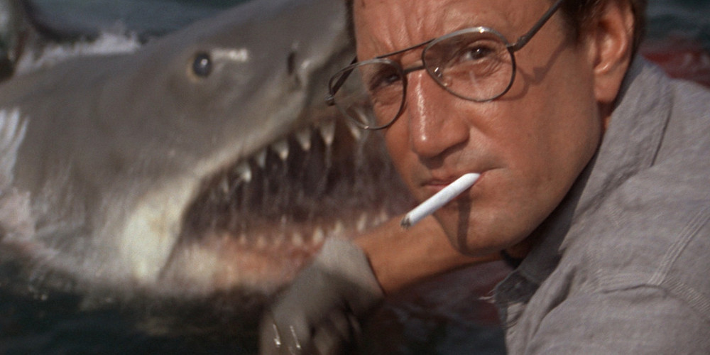 an analysis of great white by steven spielberg Directed by steven spielberg  analysis / symbols and tropes / sharks  symbols and tropes / sharks   maybe great white sharks did get a bad rap in the novel.