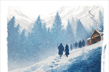Quentin Tarantino Brings First 'Hateful Eight' Footage to Comic-Con