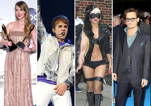 The Most Powerful Celebs of 2011