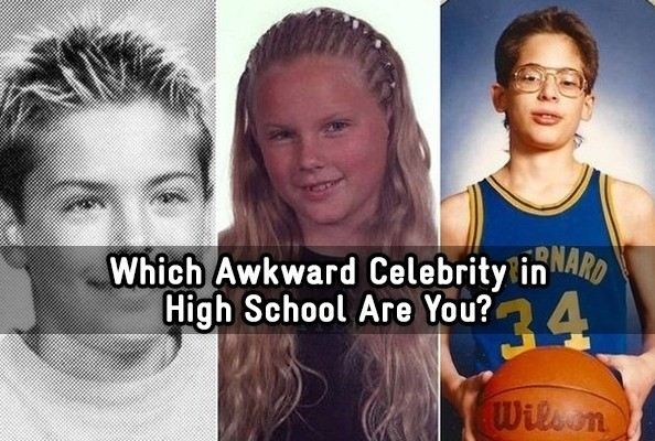 Awkward high school pictures