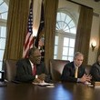 David+Thompson in Bush Meets With Caribbean Leaders At White House - From zimbio.com