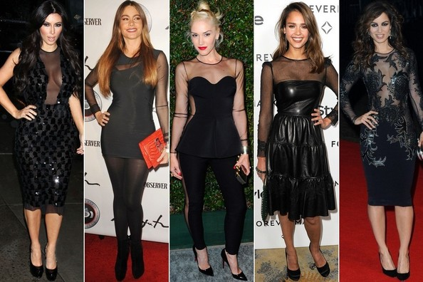 Mesh Madness: Who Wore the Trend Best?