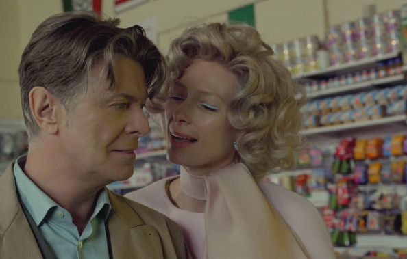 David Bowie's Latest Music Video Stars Tilda Swinton + Models Andrej Pejic and Saskia De Brauw [VIDEO]