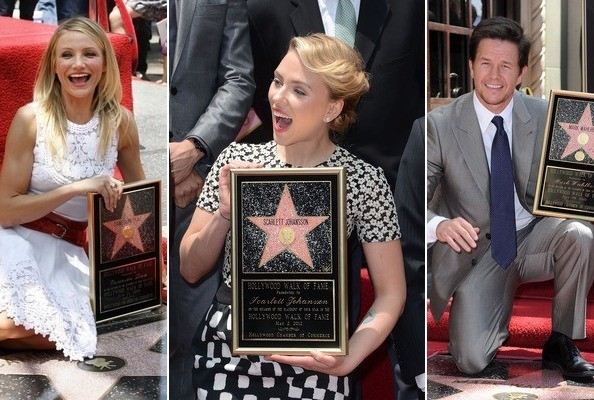 Celebs Honored on the Hollywood Walk of Fame