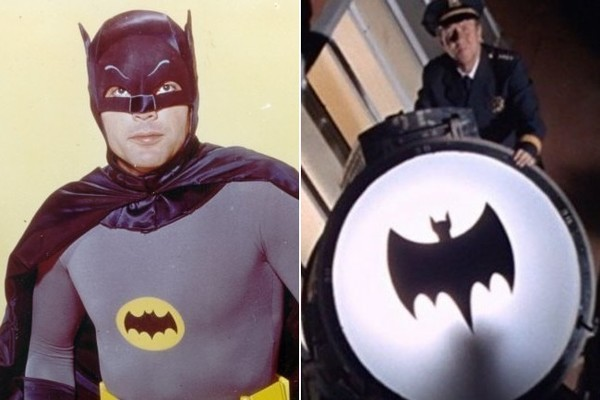 Holy Blackbeard! Here's that epic bat signal tribute to Adam West