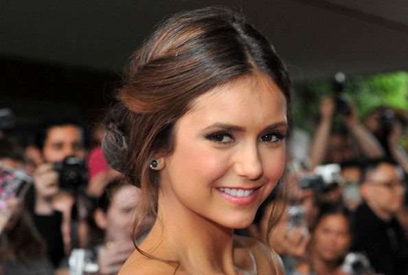 Look of the Day: Nina Dobrev's Beaded Gown