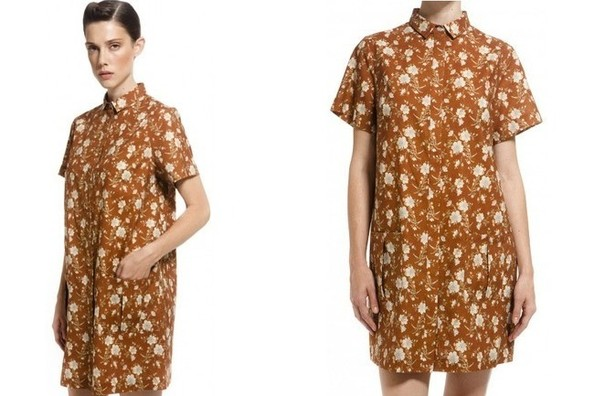 StyleBistro STUFF: Suno's Three-Season Floral Shirtdress