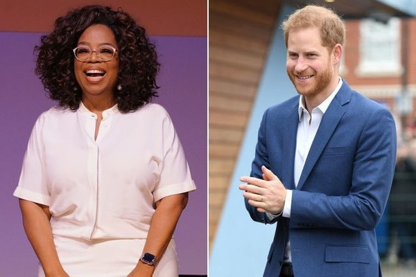 Prince Harry And Oprah Are Teaming Up On A Docu Series About Mental Health