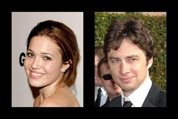 Mandy Moore dated Zach Braff - Mandy Moore Boyfriend - Zimbio
