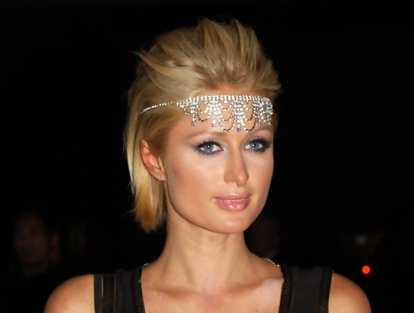 Paris Hilton's Flapper Bling