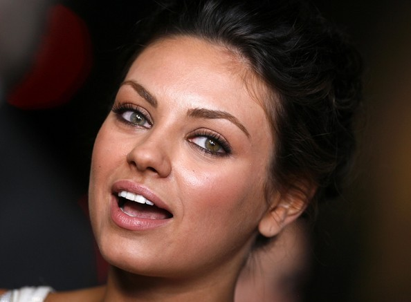 kunis eyes Mila different colored