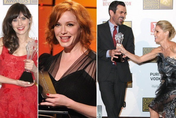 2012 TV Critics Choice Awards Winners