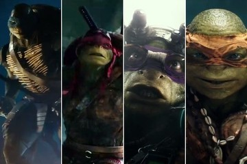 All Four Turtles Revealed in New 'Teenage Mutant Ninja Turtles' Trailer