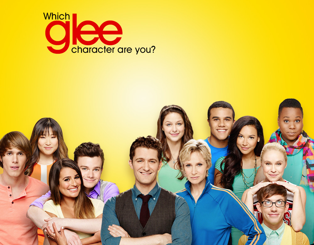 what glee character are you