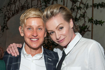 Ellen DeGeneres Supports Wife Portia de Rossi Following Claim Steven Seagal Sexually Harassed Her