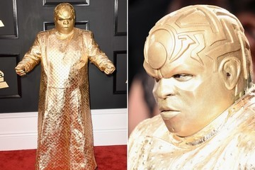 Cee-Lo Green's Horrifying Outfit at the 2017 Grammys Sets Twitter Ablaze